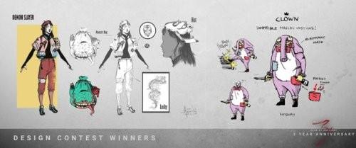dbd third year contest winners by 1428ElmSt
