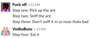 How to deal with ant by PandaZ