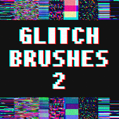 main-image-New Glitch brushes uploaded by Tsiox