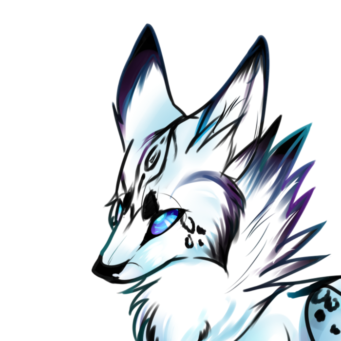 Glacior Wolf by Galactic-Wolf