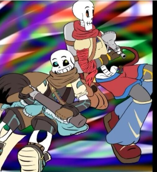 main-image-mee!! and my brother uploaded by Epicunderverse