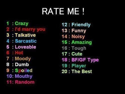 please rate me!!?? by MARKIPLIER67312