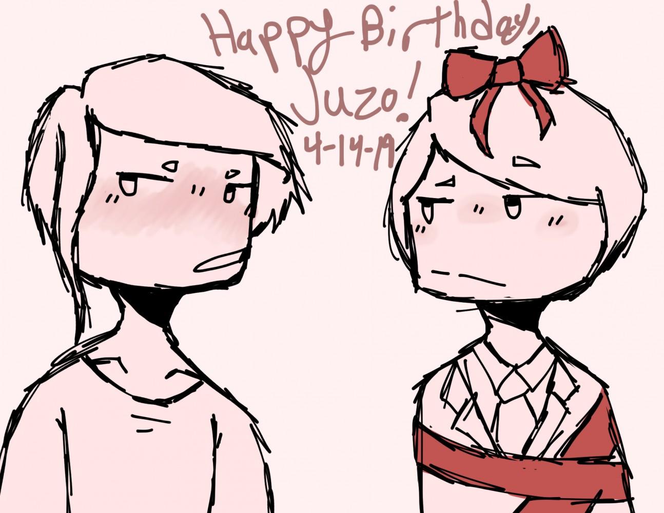 Happy Birthday Juzo! by Pixel-Fazzy