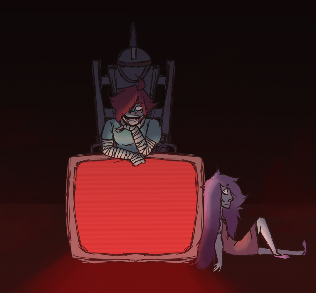 Bow Before the Twisted King by Pixel-Fazzy
