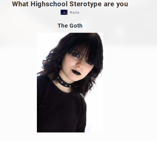 on the first test it said i was the by Zanehollow