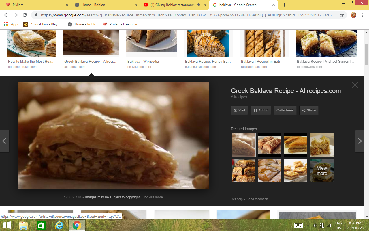 BAKLAVA by Thatrandomd0gg0