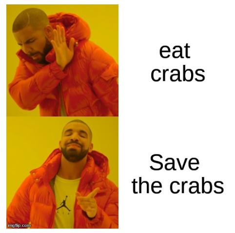 Save the crabs by zanehollow