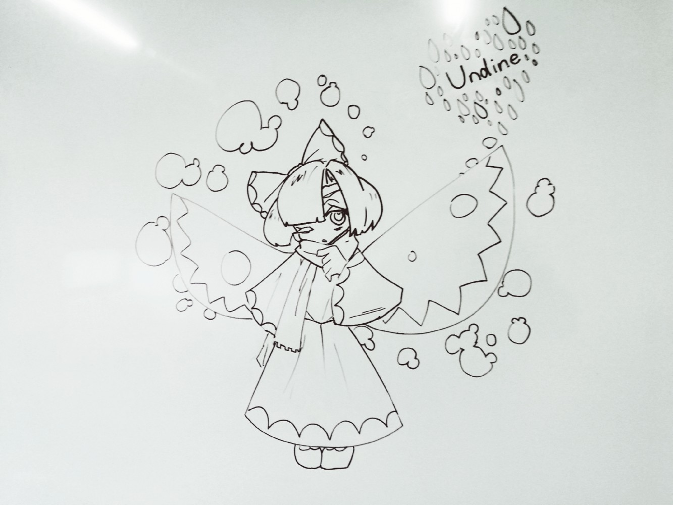 main-image-Drawing on the whiteboard uploaded by Snorlax