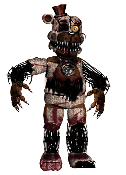 Pixilart - My old Version Of Molten Freddy uploaded by