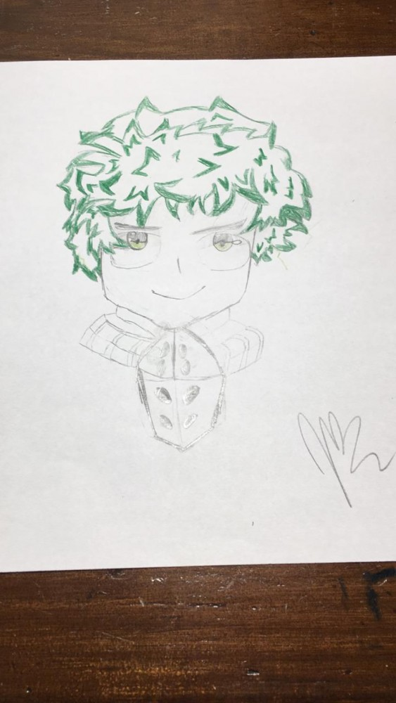 Deku drawing by Jmella