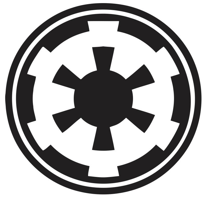 Pixilart Galactic Empire Symbol By Richthofen