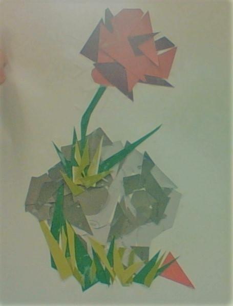 Paint Chip Mosaic by Ametrine