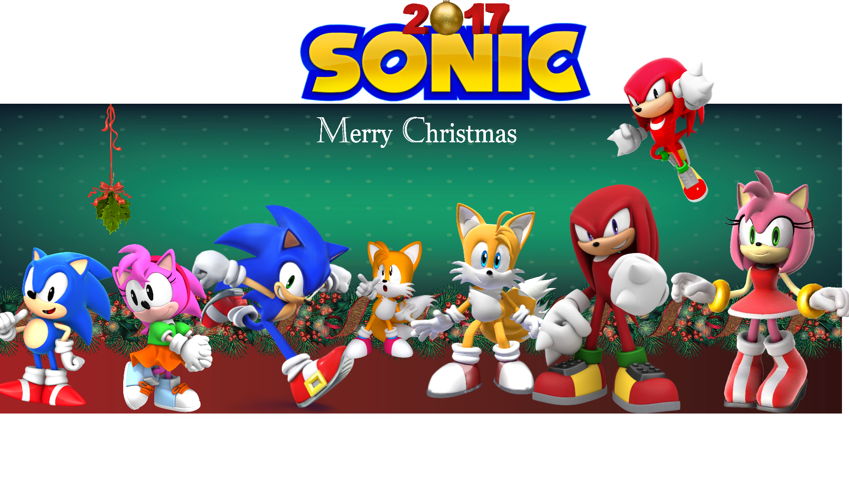 merry christmas from sonic and pals - Sonic Hours Christmas Day