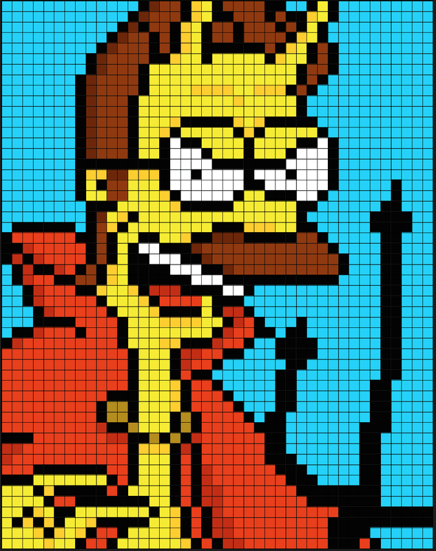Pixilart The Simpsons Uploaded By Mooreali001