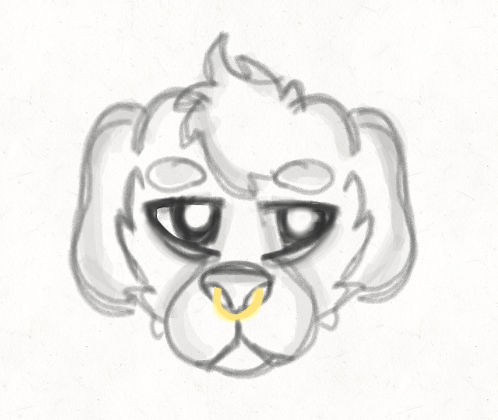 main-image-Dog sketch uploaded by mutt