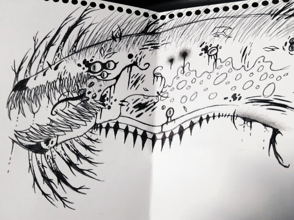 Mutant Reptile by EmeraldSerpent