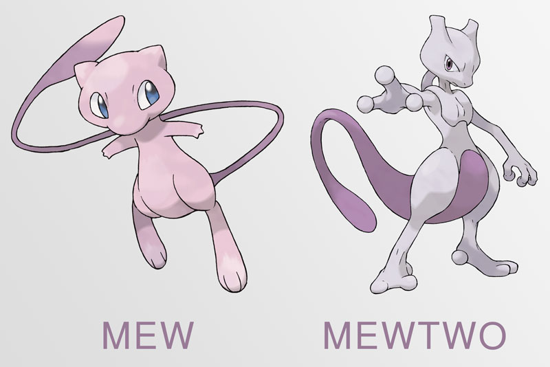 pixilart mew and mewtwo by harambe