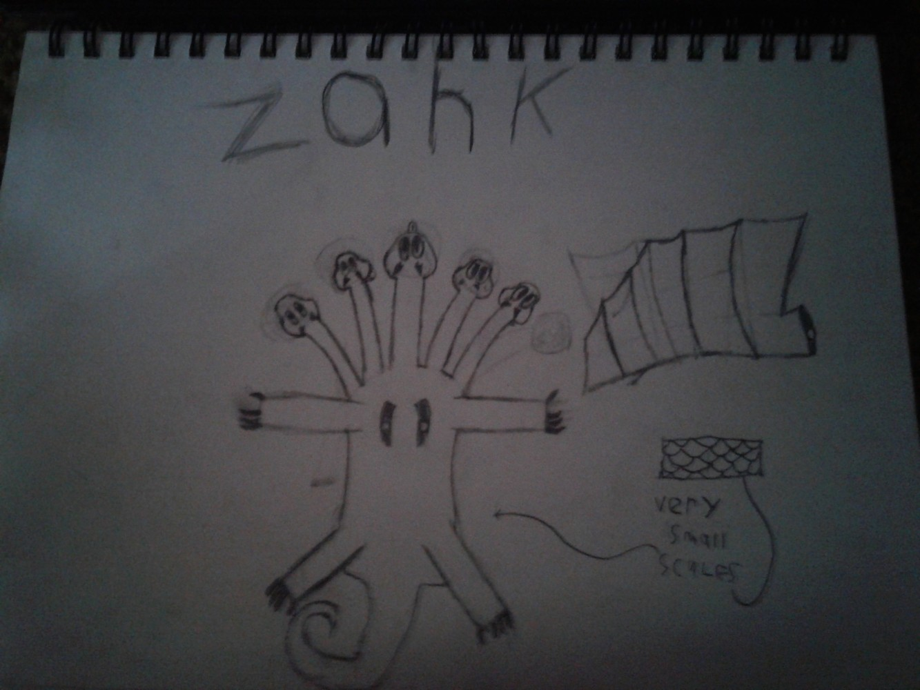 Zahk, Full body by Manj10