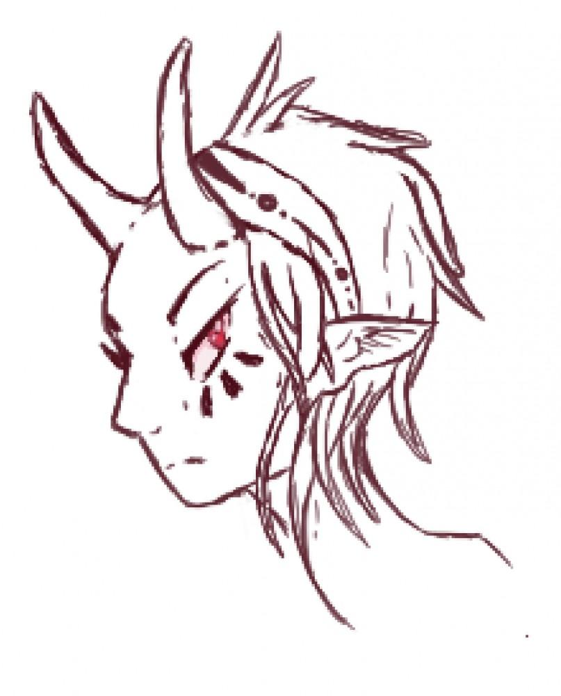 Sketching by SpiritShiba