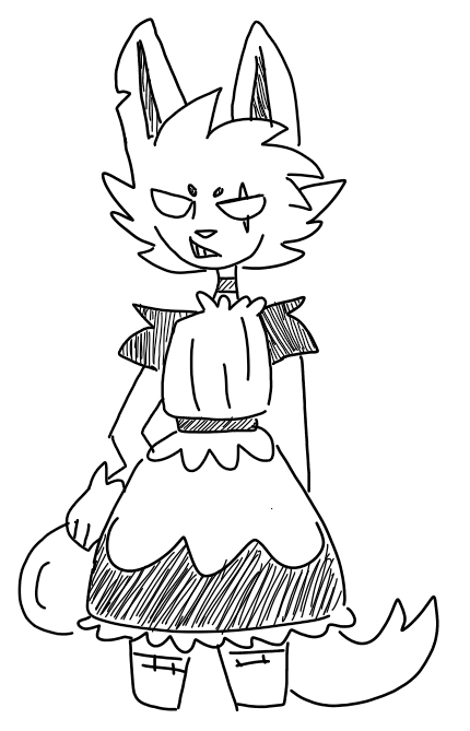 main-image-I made my friends oc into a maid uploaded by ThatOnePumpkin