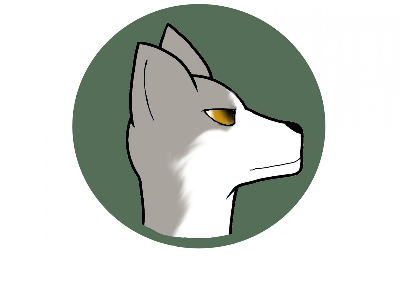 A Serious Wolf by pokemon20003