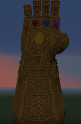 thanos guantlet by THANOSSNAPSS