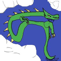 random dragon by Leviathan-boi