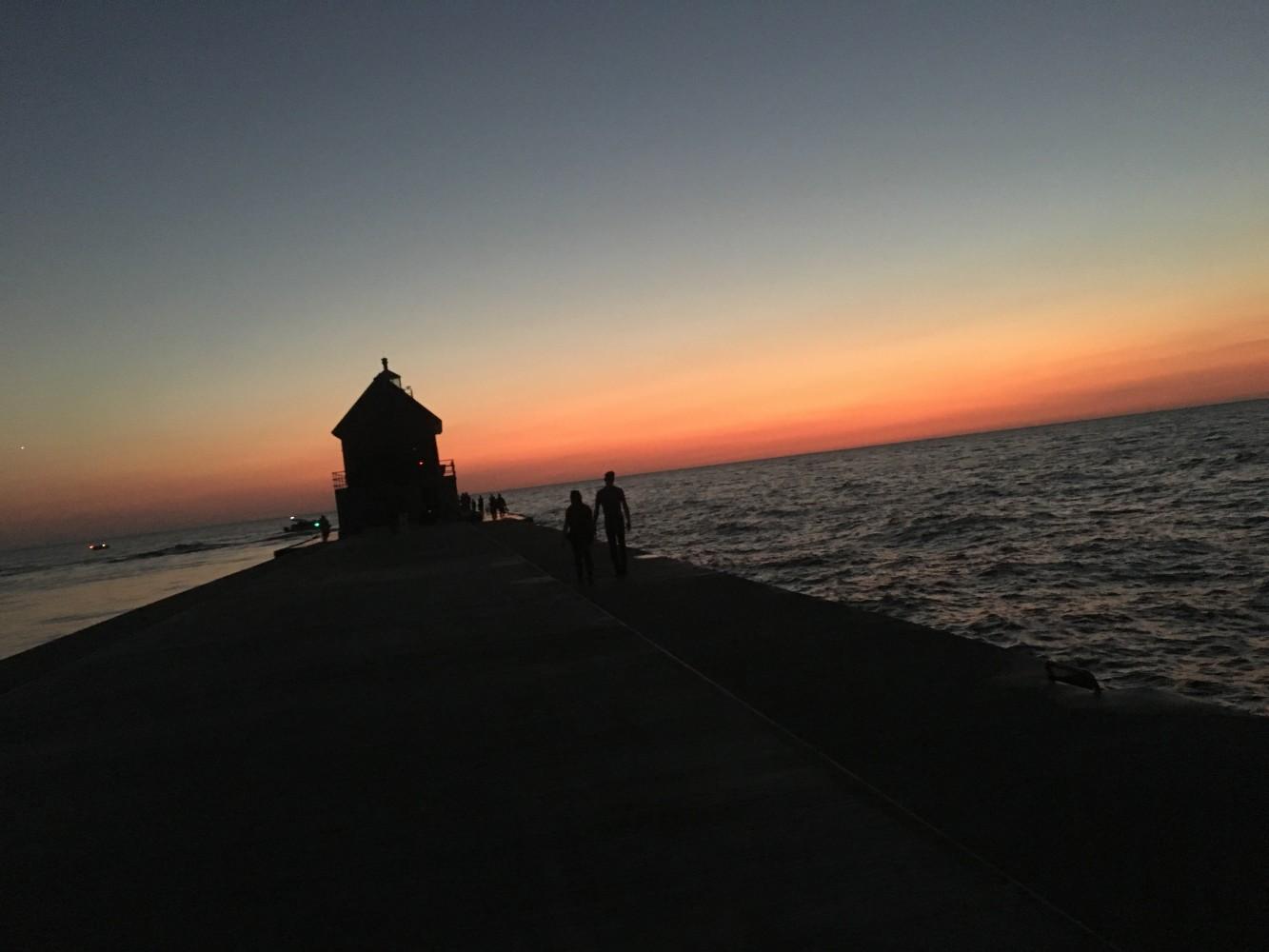 Grand Haven Pier by SAVEISEN1307