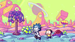 pixilart rick and morty pilot episode by lithialeviathan