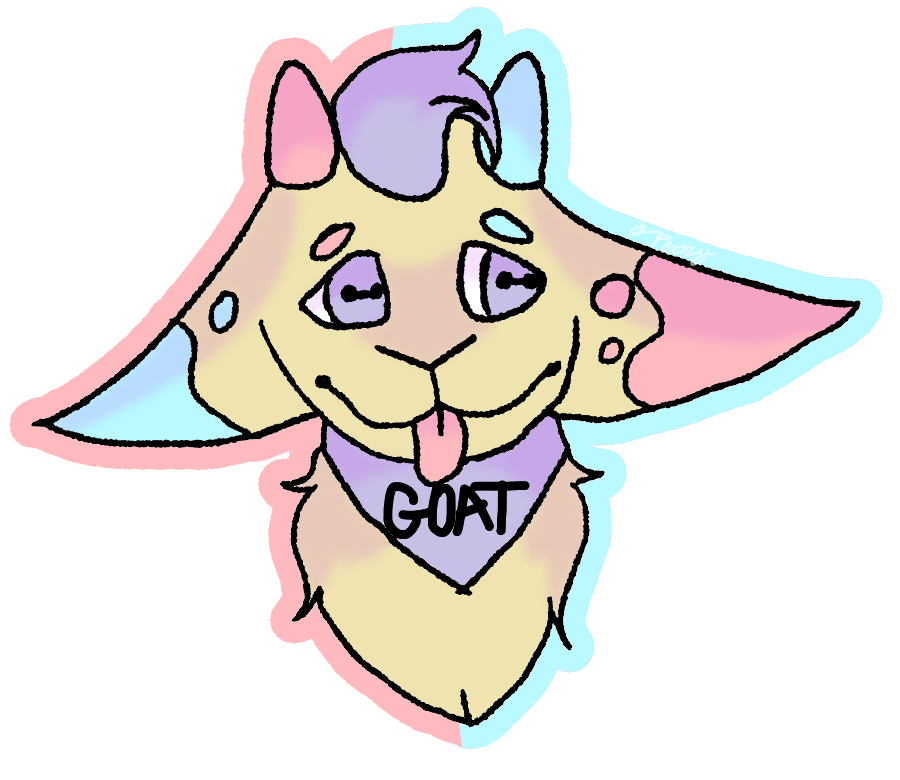 main-image-3Dee The Goat uploaded by Pixel-Fazzy