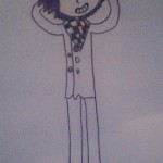 Pixilart - Pregame Kokichi uploaded by MartialArtist